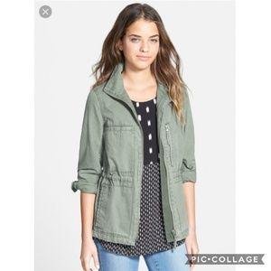 Madewell Jackets & Coats - Madewell Green Fleet Utility Military Jacket